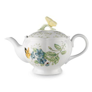 Lenox® Butterfly Meadow® 46-Ounce Teapot
