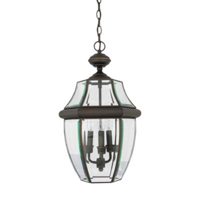 Rich Glass and Medici 2-Light Newbury Outdoor Fixture in Bronze