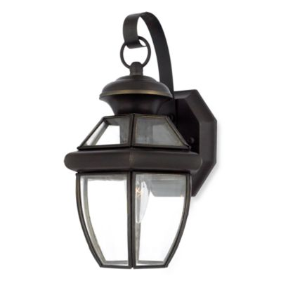 Medici Bronze Newbury Outdoor Wall Lantern