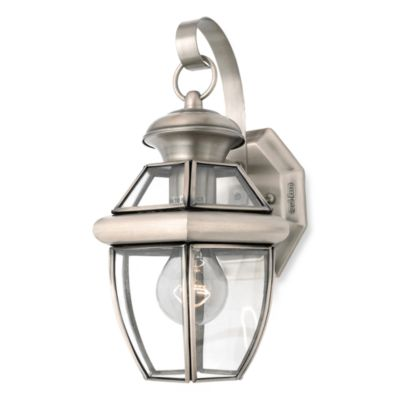 Quoizel® Newbury Pewter Outdoor Coach Light