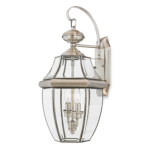 Newbury Outdoor Light Fixture in Pewter