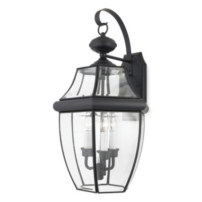 Mystic Black Outdoor Lighting