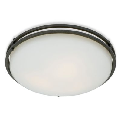 Ozark 3-Light Flush Ceiling Mount