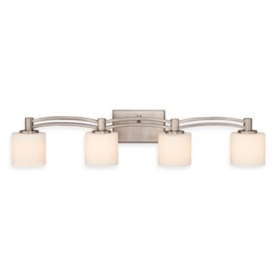 Perry Antique Nickel 4-Light Bathroom Fixture