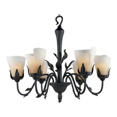 Yuma 6-Light Chandelier with an Imperial Bronze Finish