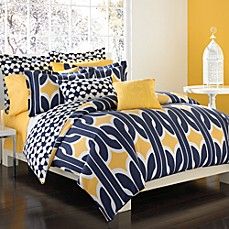 DVF Studio™ Graphic Chain Link Duvet Cover Set, 100% Cotton