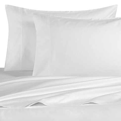 DVF Studio™ Solids Sheet Set, 100% Cotton, 400 Thread Count - White