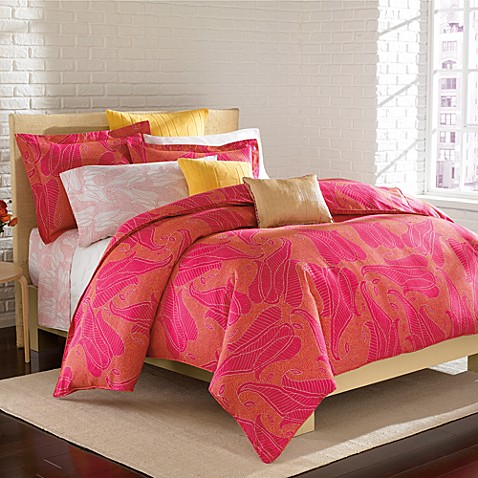 DVF Studio™ Summer Paisley Duvet Cover Set, 100% Cotton