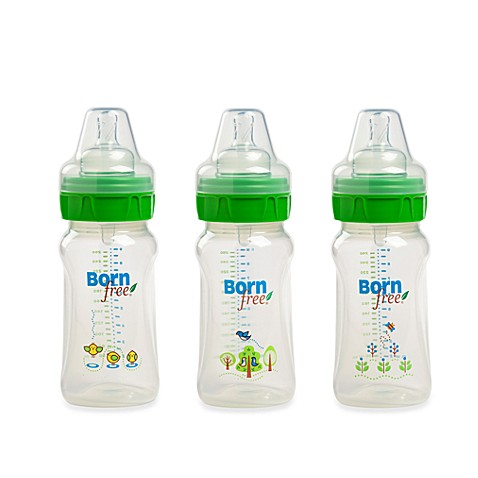Born Free® 9-Ounce Deco Bottle 3-Pack