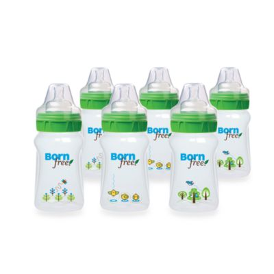 Born Free® 9-Ounce Deco Bottles 6-Pack