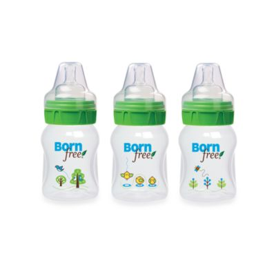 Born Free® 5-Ounce Deco Bottle 3-Pack