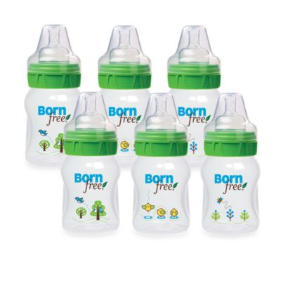 Born Free® 5-Ounce Deco Bottles 6-Pack