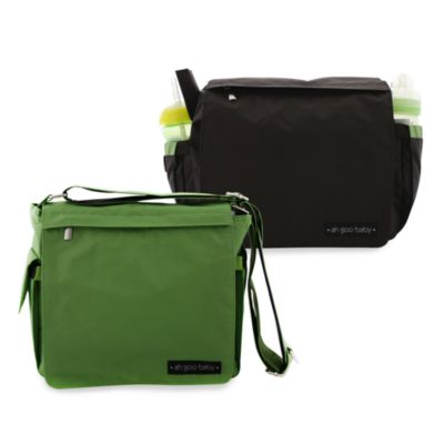 ah goo baby® Grab-And-Go Diaper Bag in Green
