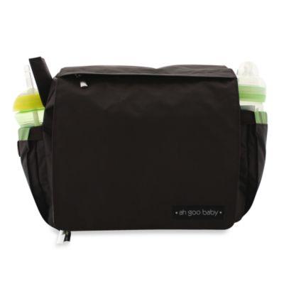 ah goo baby® Grab-And-Go Diaper Bag in Brown