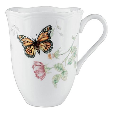 cbed45f07632 Lenox Butterfly Meadow Wine Glasses