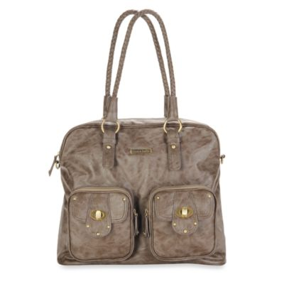 Timi & Leslie Rachel Diaper Bag in Taupe
