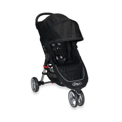 Baby Jogger™ City Mini™ Single Stroller in Black
