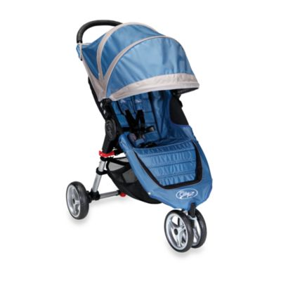 Baby Jogger™ City Mini™ Single Stroller in Blue/Grey