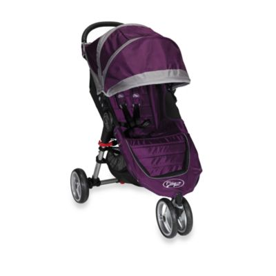 Baby Jogger™ City Mini™ Single Stroller in Purple/Grey