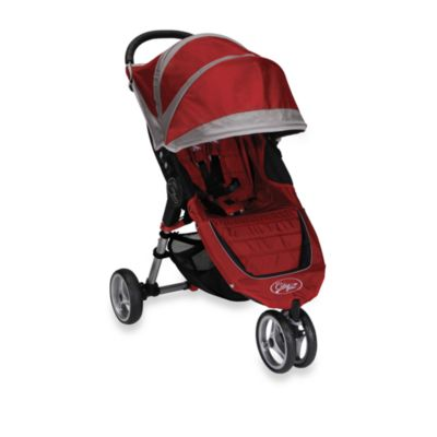 Baby Jogger™ City Mini™ Single Stroller in Crimson/Gray