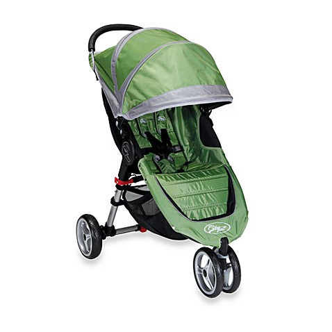 Baby Jogger™ City Mini™ Single Stroller in Green/Grey