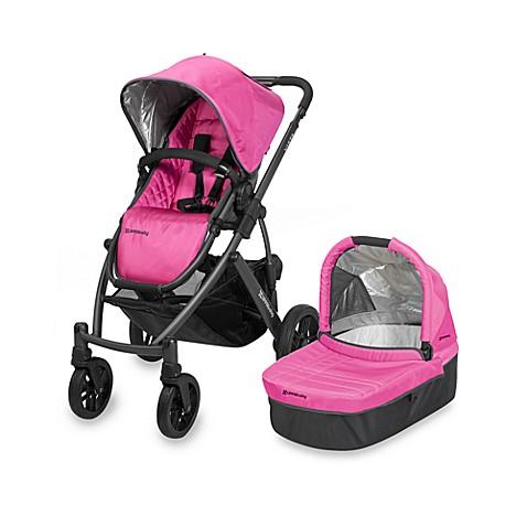 Uppababy 174 Vista Stroller In Magenta Olivia Buybuy Baby