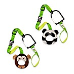 Hold-On Handles Zany Zoo Handle Plush Stroller Accessories