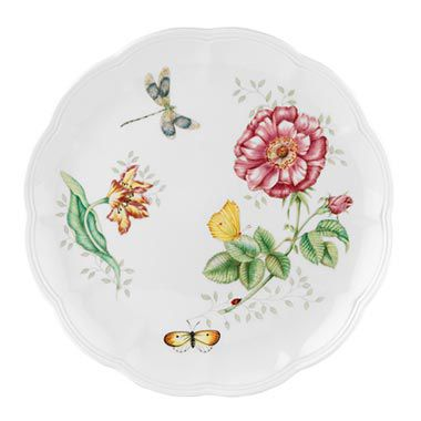 Lenox® Butterfly Meadow® Dragonfly 10 3/4-Inch Dinner Plate