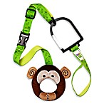 Hold-On Handles Zany Zoo Handle Plush Stroller Accessory in Monkey