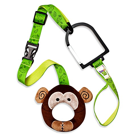 Hold-On Handles® Zany Zoo Handle Plush Stroller Accessory in Monkey