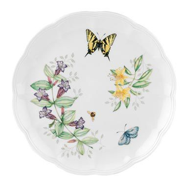 "Lenox® Butterfly Meadow® Tiger Swallowtail 10 3/4"" Dinner Plate"