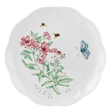 "Lenox® Butterfly Meadow® Tiger Swallowtail 9"" Accent Plate"
