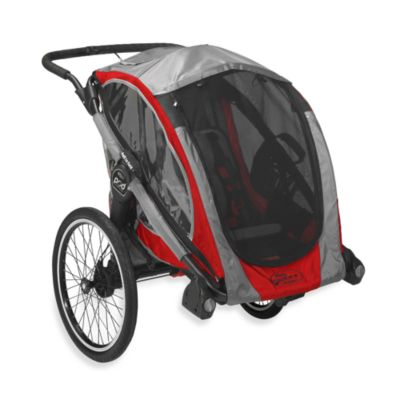 Baby Jogger™ POD Chassis in Crimson/Grey