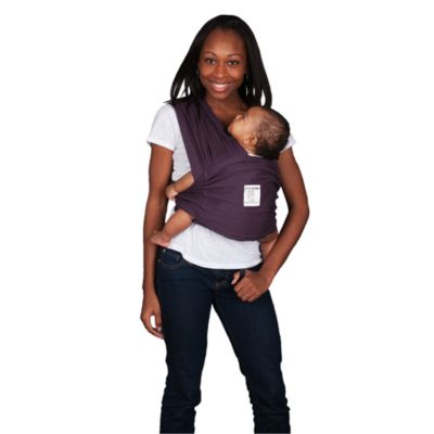 Baby K'Tan® Eggplant Baby Carrier