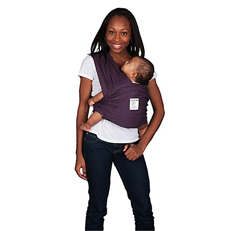 Baby K'tan® Baby Carrier in Eggplant