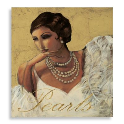 Pretty in Pearl Canvas Wall Art