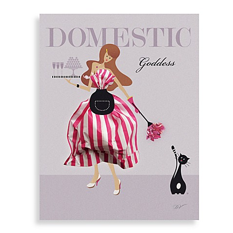 Domestic Goddess Wall Art