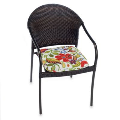 2-Inch Thick Chair Cushion in Wildwood
