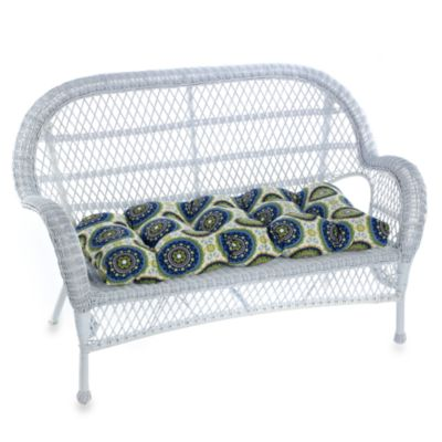 Outdoor Settee Cushion in Bindis