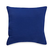 Outdoor Knife Edge Throw Pillow in Blue