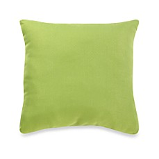 Outdoor 20-Inch Welt Cord Pillow in Kiwi