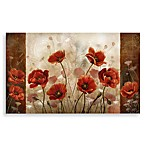 Calm Chef Poppies Floor Mat