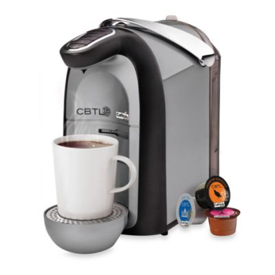 The Coffee Bean and Tea Leaf® CBTL™ Single Serve Beverage Machine in Silver