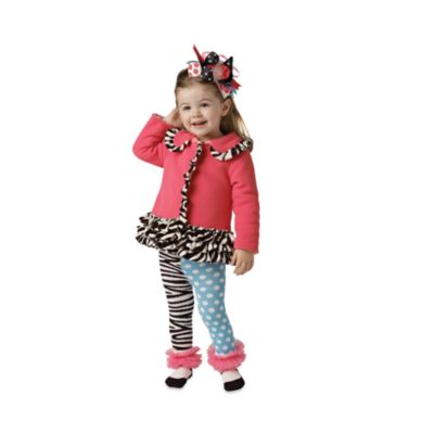Mud Pie™ Zebra Coat