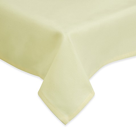 Basic Essentials Premium Banquet Radius Corner 96-Inch Tablecloth (Set of 6)