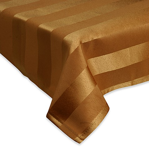 "Luxury Essentials Modern Table Stripe 86"" x 86"" Tablecloth (Set of 6)"