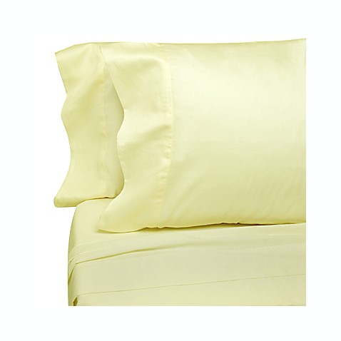 Classic Bedding Ivory Solid Cotton 300 Sateen Sheet Sets, 100% Cotton, 300 Thread Count