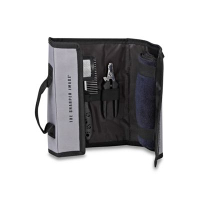 The Sharper Image® 6-Piece Pet Grooming Kit