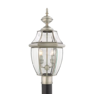 Quoizel Newbury Outdoor Post Lantern Outdoor Lighting
