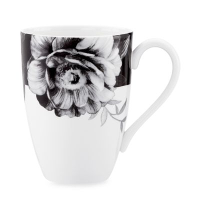Lenox® Moonlit Garden 16-Ounce Black Mug